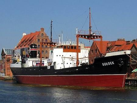 museum ship in GDANSK POLAND by Tomasz Sienicki-CC