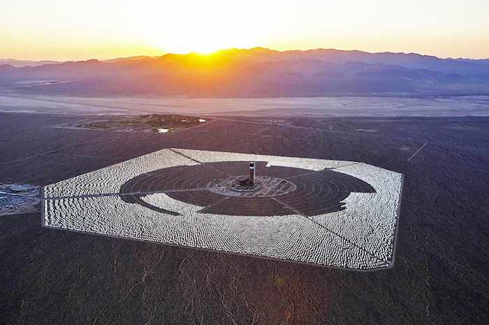 Solar Thermal Plant-Ivanpah-Brightsource photo