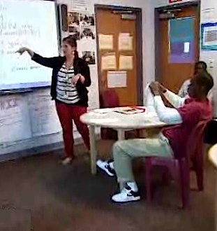 classroom in juvenile prison - NBC video snippet