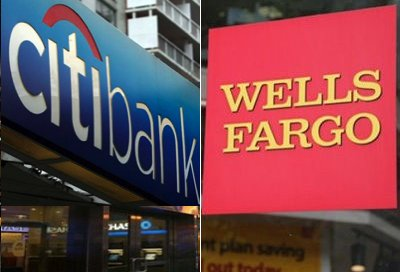 Citi and Wells Fargo banks