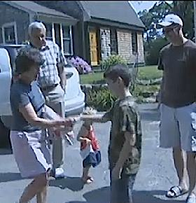 boy trades for Disney trip and gives to fallen soldier's family