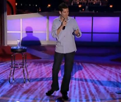 Comedian Dean Obeidallah on Comedy Central TV show