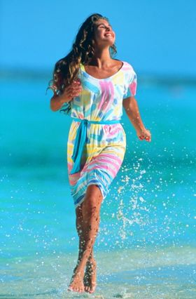 Beach joy splashes -Photo by SunStar