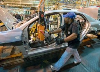 Auto plant - GM photo
