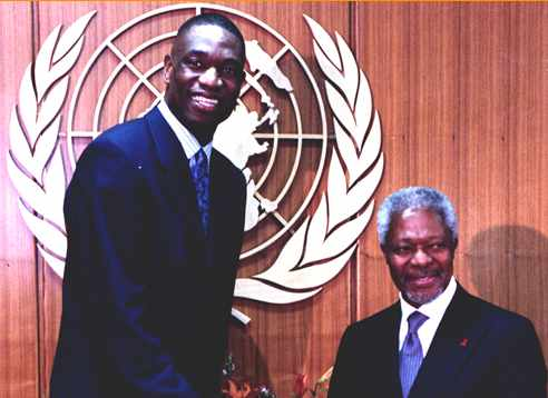 Dikembe Mutombo Foundation photo