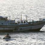 Navy boards Iranian ship US Navy
