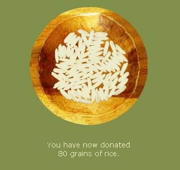 hunger site rice bowl