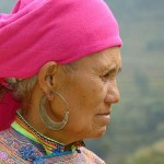 Asian Hmong woman- photo by Christophe Meneboeuf, CC