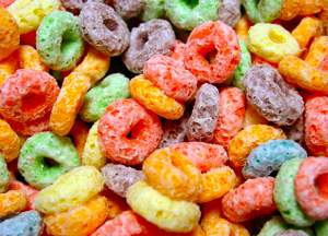 Fruit Loops photo by ppdigital via Morguefile
