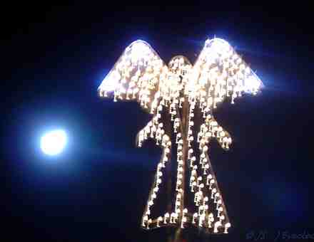 photo of angel-lights by John Stone, eyeclectic.net