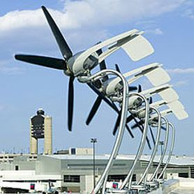 AeroVironment wind turbines were used by Blue Sea