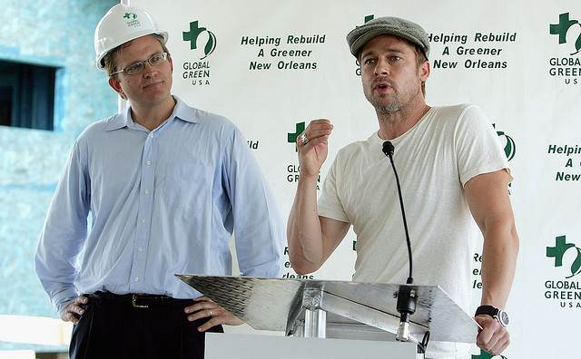 brad-pitt-global-green-USA-press-conf