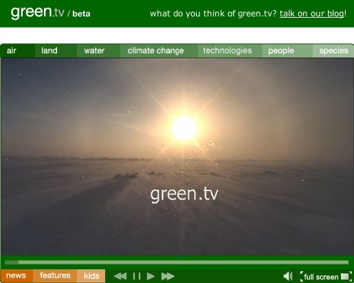 Green TV screenshot