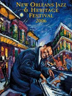 Fats Domino, New Orleans Jazz Festival 2006:  Rockin' to New Orleans by James Michalopoulos