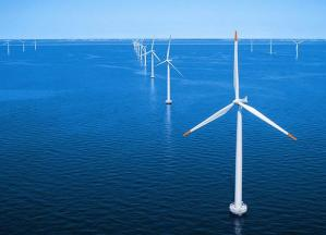 offshore wind turbines, via Flickr