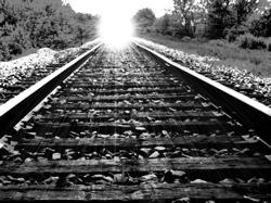 RR track in the sun - Andee Fromm