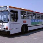 clean diesel bus