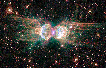NASA photo of a nebula, via Hubble space telescope