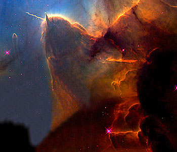 photo from hubble telescope