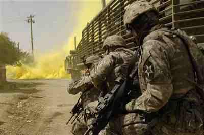 fighting in iraq