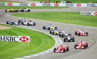 Indy Formula one cars
