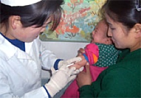measles shots in Korea