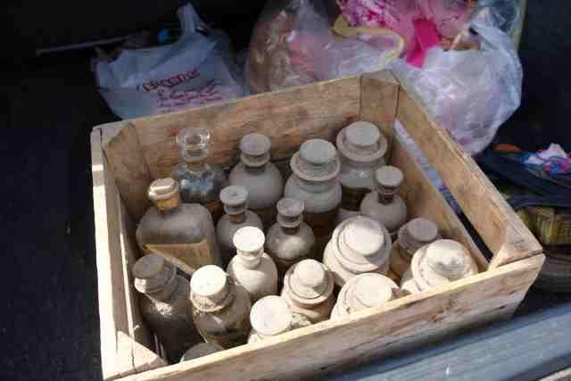 antique drug bottles