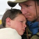 father and son search for hope