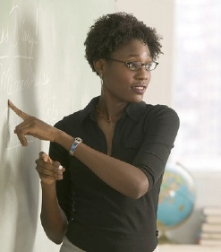 African American teacher-cybrarian77-CC-Flickr