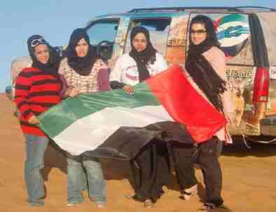 Emirati women strive for equal rights for travel
