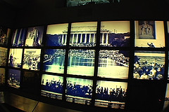 Lincoln Memorial exhibits