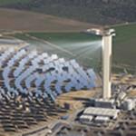 solar tower in Spain