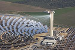 solar tower in Spain