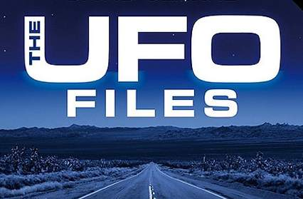UFO Files book jacket by David Clarke