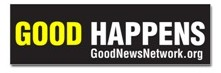 Black Good Happens bumper sticker