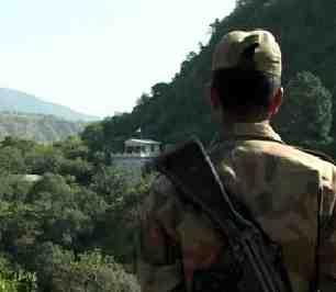Kashmir border