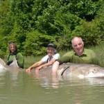 1100-pound sturgeon caught