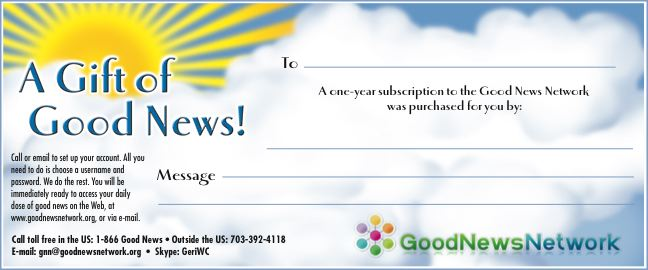 give the gift of good news