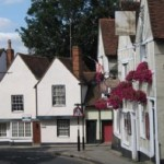 England village street