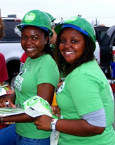 Green Corps teens (file photo)