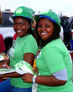 Green Corps teens