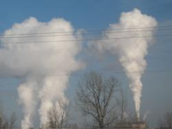 smoke stack pollution
