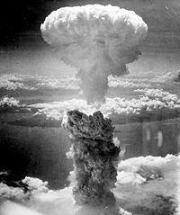 Nagasaki mushroom cloud