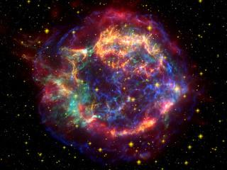 Supernova illustration, via NASA