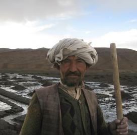 Afghan potato farmer USAID