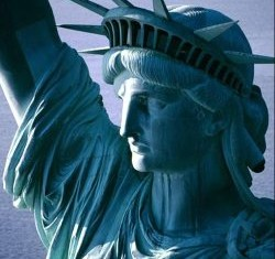 Statue of Liberty's crown