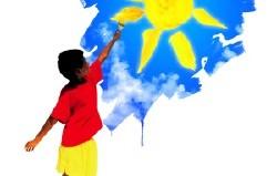 boy-paints-sun