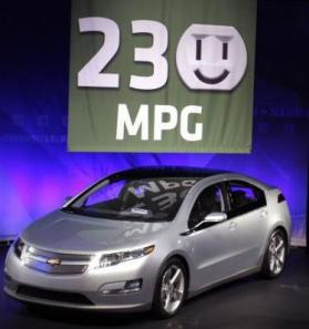 Chevy Volt Gets 230 Miles Per Gallon In The City