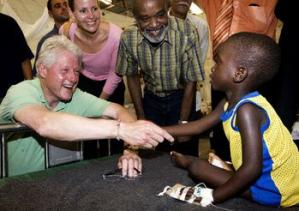 Bill Clinton in Haiti, UN Foundation, Marco Dormino