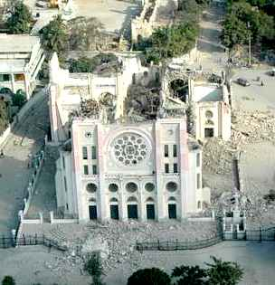 haiti church, EU government photo